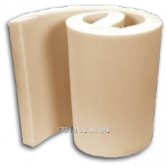 Foam rubber 1kh2m thickness is 2 mm