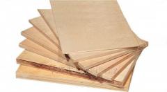 Plywood 1,5х1,5 tolshch.3-18 mm