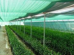 Shadow grid for greenhouses (reflection of light of 35%-40%-55%-75%-90%)