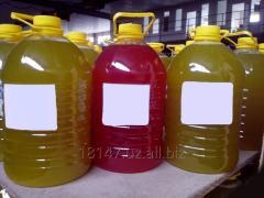 Liquid soap for washing, washing, production of