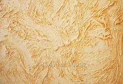 Decorative plaster, panels, plates