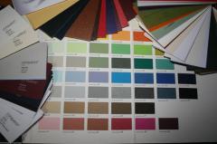 Визитки цветные