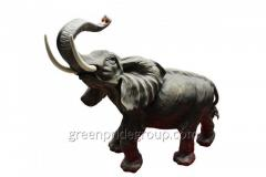 Figurine from porcelain the Elephant the Article
