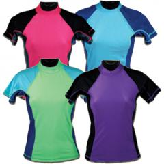 Female polo-necks from soft Turkish jersey