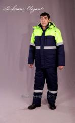 Куртка с полукомбинезоном Арт.017