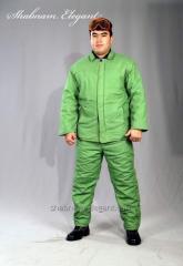 Куртка с брюками сварочный Арт.015