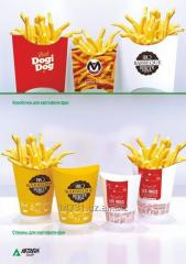 Boxes for French fries