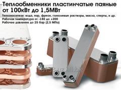 Heat exchangers are lamellar solder