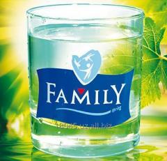 Натуральная питьевая вода