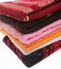 Las toallas y los productos afelpados