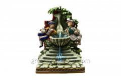 Porcelain Figurine Children at Fontana Article 198