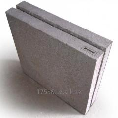 Blocks polystyreneconcrete grooving (BPBP) not