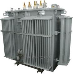 Power transformers with power from 25 to 1000 kVA