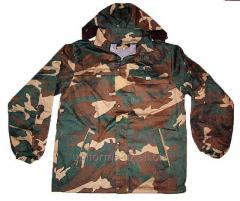 Jackets are camouflage