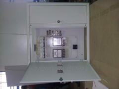 Floor guard of internal installation