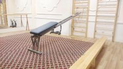 The exercise machine for swimmers