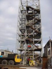 Equipment for production of plaster, gypsum