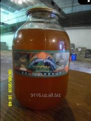 Apple juices in a steklobanka (1 and 3 liter)