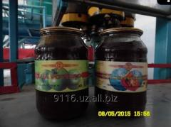Jam apple and pumpkin
