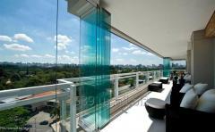 Glass sliding systems