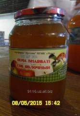 Apple Juice glass of bank (1 liter)