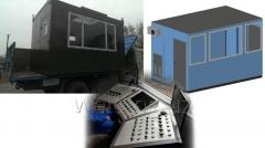 Modular and mobile houses, cabins, trailers