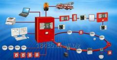 Fire-prevention automatic equipmen