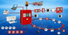 Fire-prevention automatic equipmen