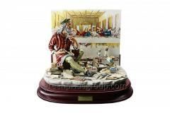 Porcelain Figurine Leonardo's Last Supper