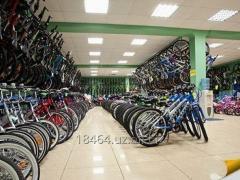The bicycle in Uzbekistan