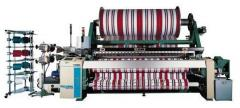Textile equipment for production of terry towels