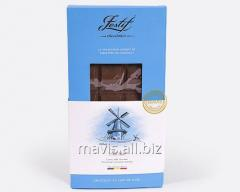 Chocolate tiled dairy au lait, ordinary without