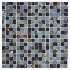 Glass mosaic for bathroom