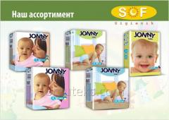 Baby nappies hygienically JONNY baby