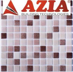Glass tile for the bathroom