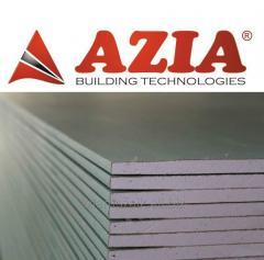 Gypsum plasterboard constructions