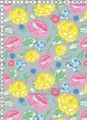 Ткани с цветочным орнаментом