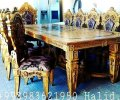 Банкетный стол и стулья вид 2
