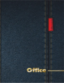 Деловой журнал формат А5 96 листов с лентой