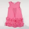 Платье для девочки с розами