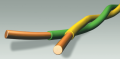 Провод - станционный - кроссовый с двумя, тремя или четырьмя однопроволочными медными жилами