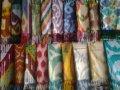 Шарфы из шёлка с национальными орнаментами