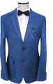 Костюм ярко синий мужской