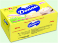 Oil vegetable and fatty Donna fat content of 60% 200 g in a foil