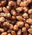 Арахис бланшированный - жаренный с сахарной пудрой, с солью, фракция: 52/62 , влажность - 6%
