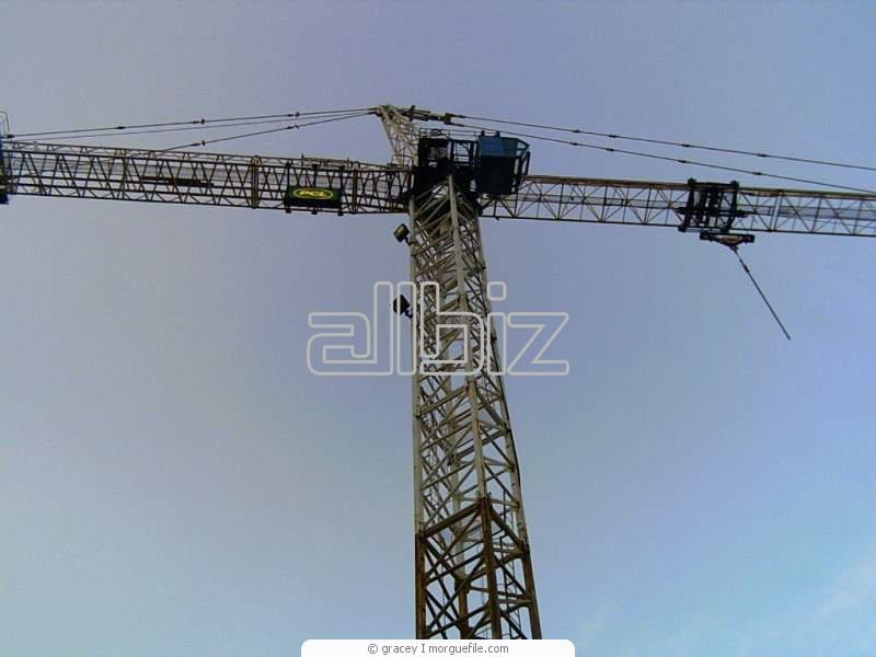Заказать Обучение машинистов башенных кранов