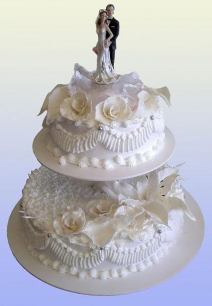 Изготовление свадебных тортов