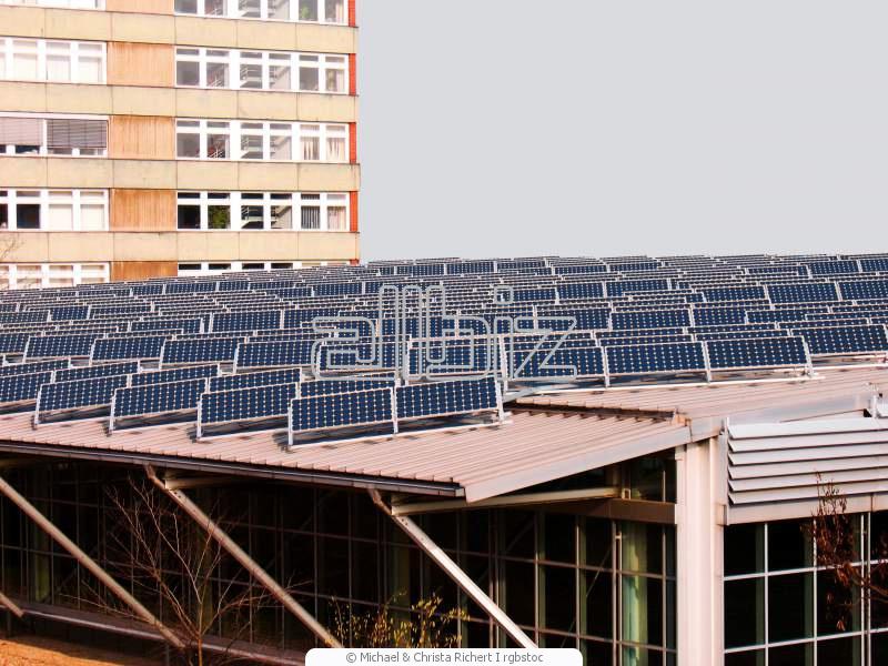 Установка солнечных коллекторов