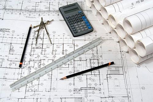 Разработка планов и проектов архитектуры зданий