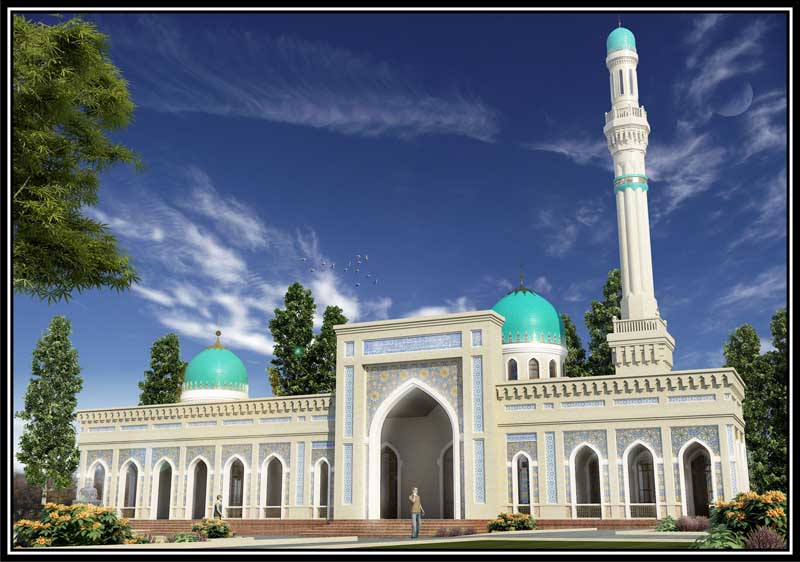 Order Architectural design of the Mosque, objects of religious value